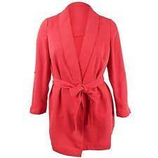 Msrp 149 Bar Iii Womens Plus Shawl Collar Wrap Jacket Size 1x