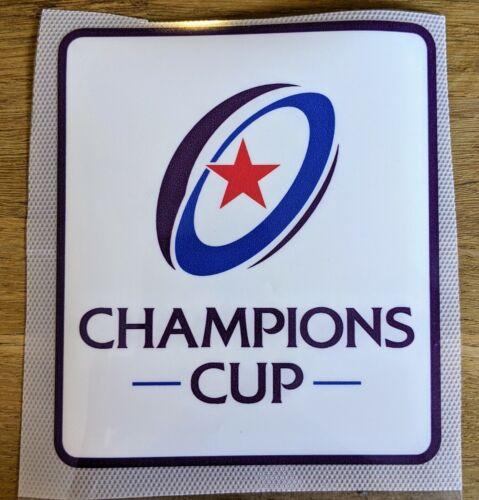 Patch Champions CUP Heineken Maillot Porté Racing 92 Stade Toulousain sponsor
