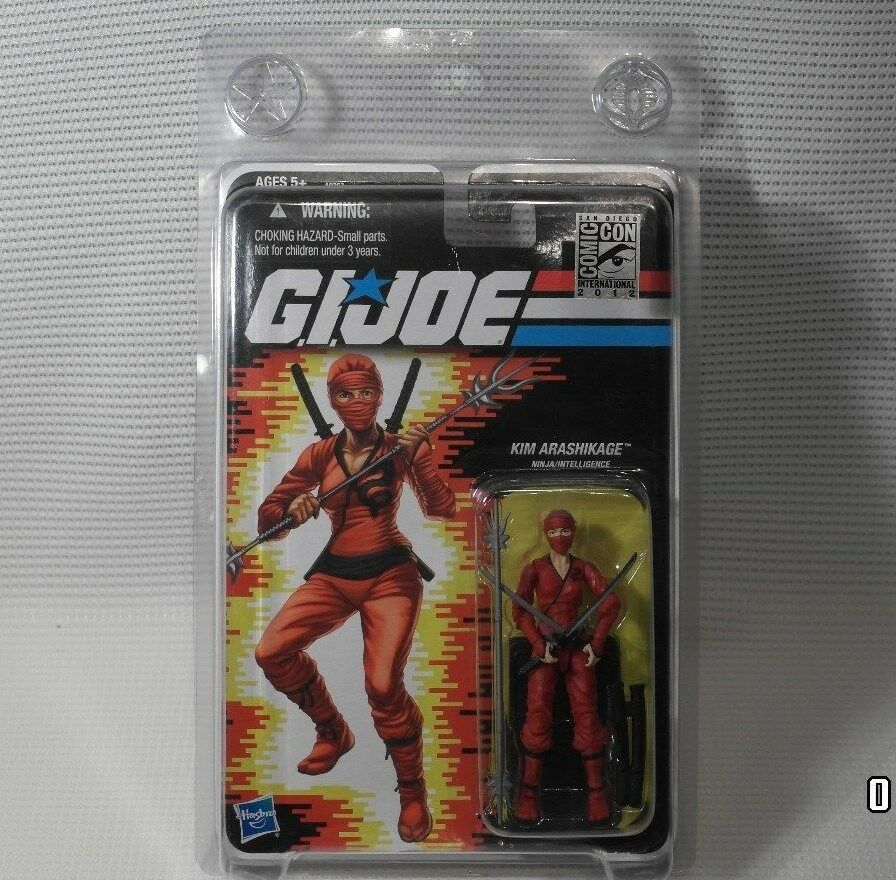 Action Force/GI Joe Modern SDCC Exclusive ROT Jinx Kim Arashakage MOC