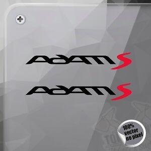 Details About Pegatina Opel Adam S Logo Decal Vinyl Sticker Autocollant Adesivi Aufkleber