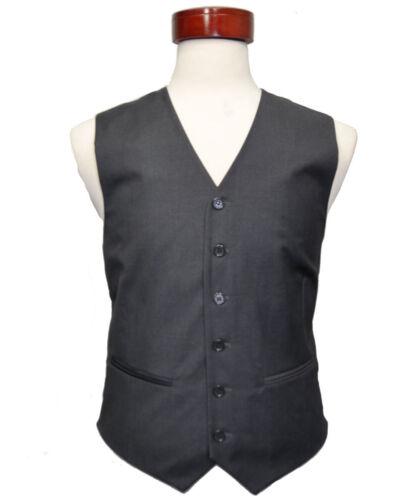 Men/'s  wool feel smoke gray color formal vest size 56