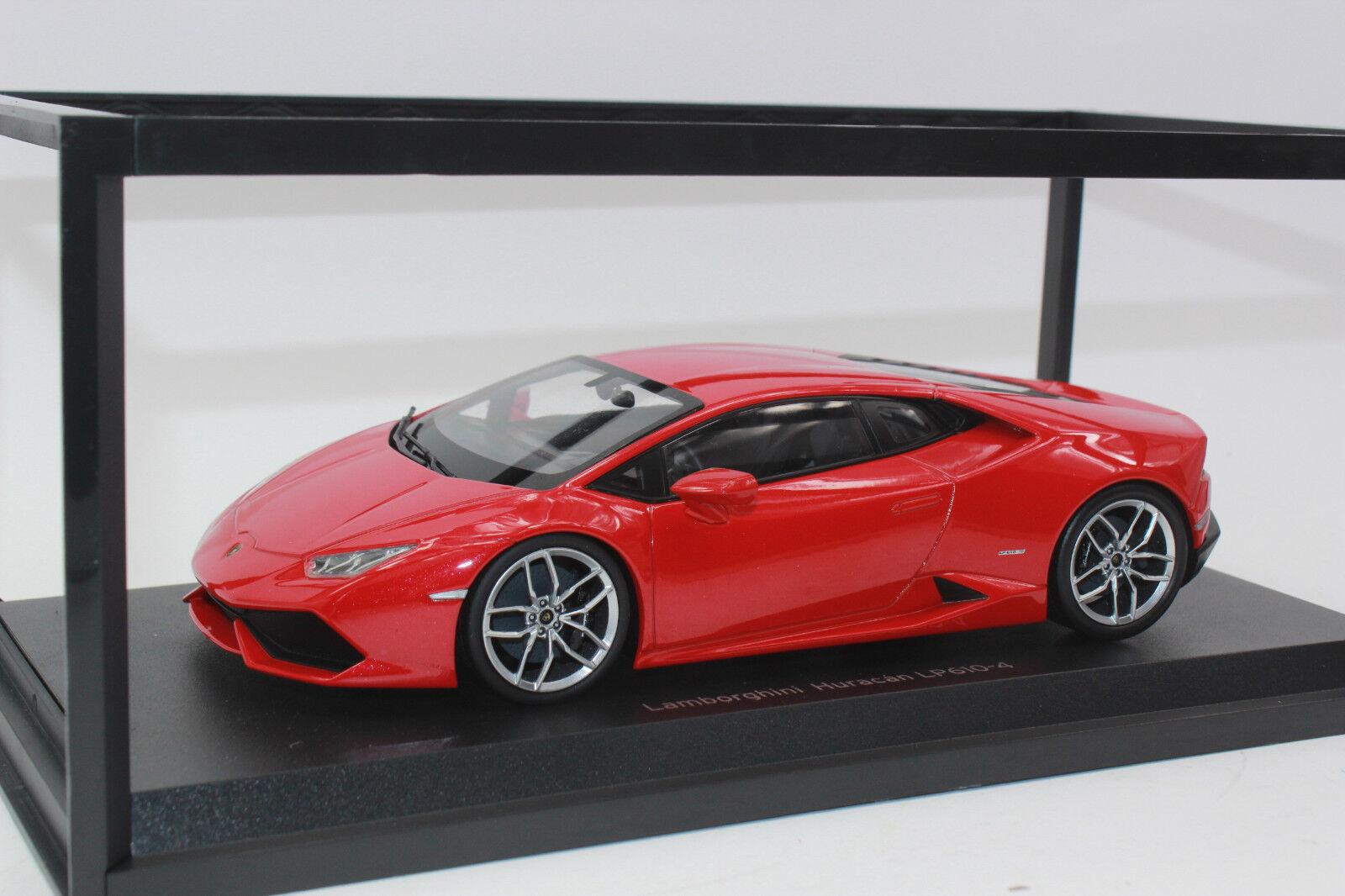 Kyosho 9511 RM Lamborghini Huracán 610-4 rojo 1   18 nueva en caja original
