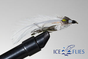 ICE-FLIES-Streamer-fly-Gray-ghost-Size-2-4-6-8-and-10-3-pack