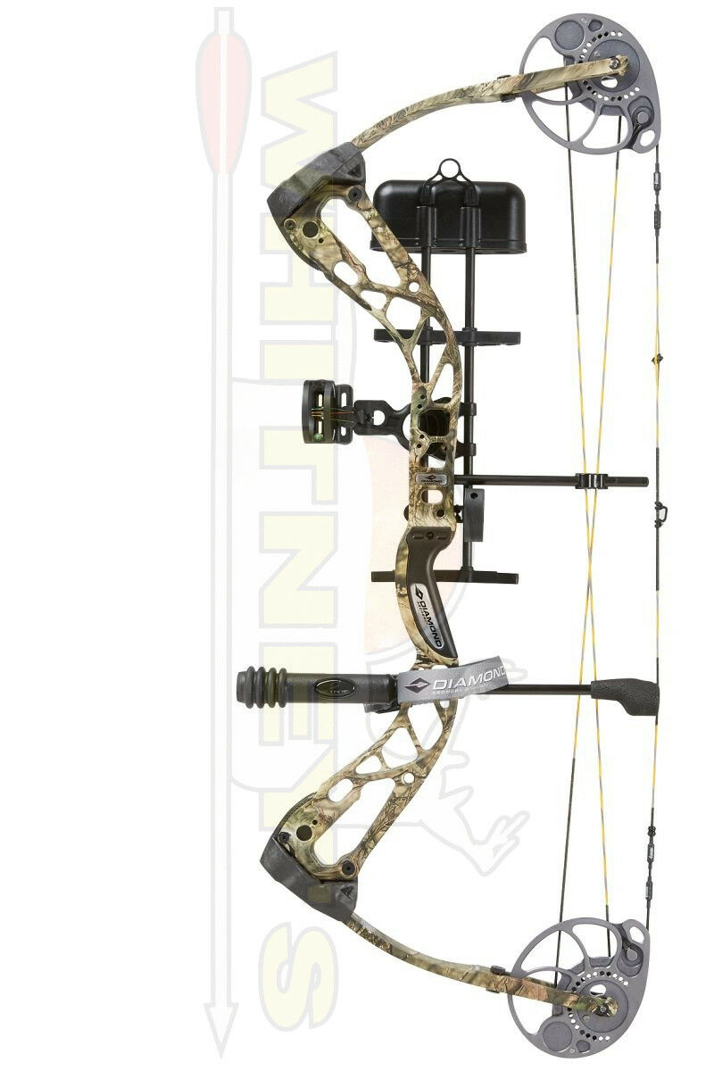 Diamond Bowtech Infinite Edge SB1 SB-1 Camo Rak Paquete de mano derecha - 7-70  15-30