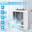 Portable-USB-Mini-Climatiseur-Ventilateur-Refroidissement-Humidificateur-LED-A miniature 1