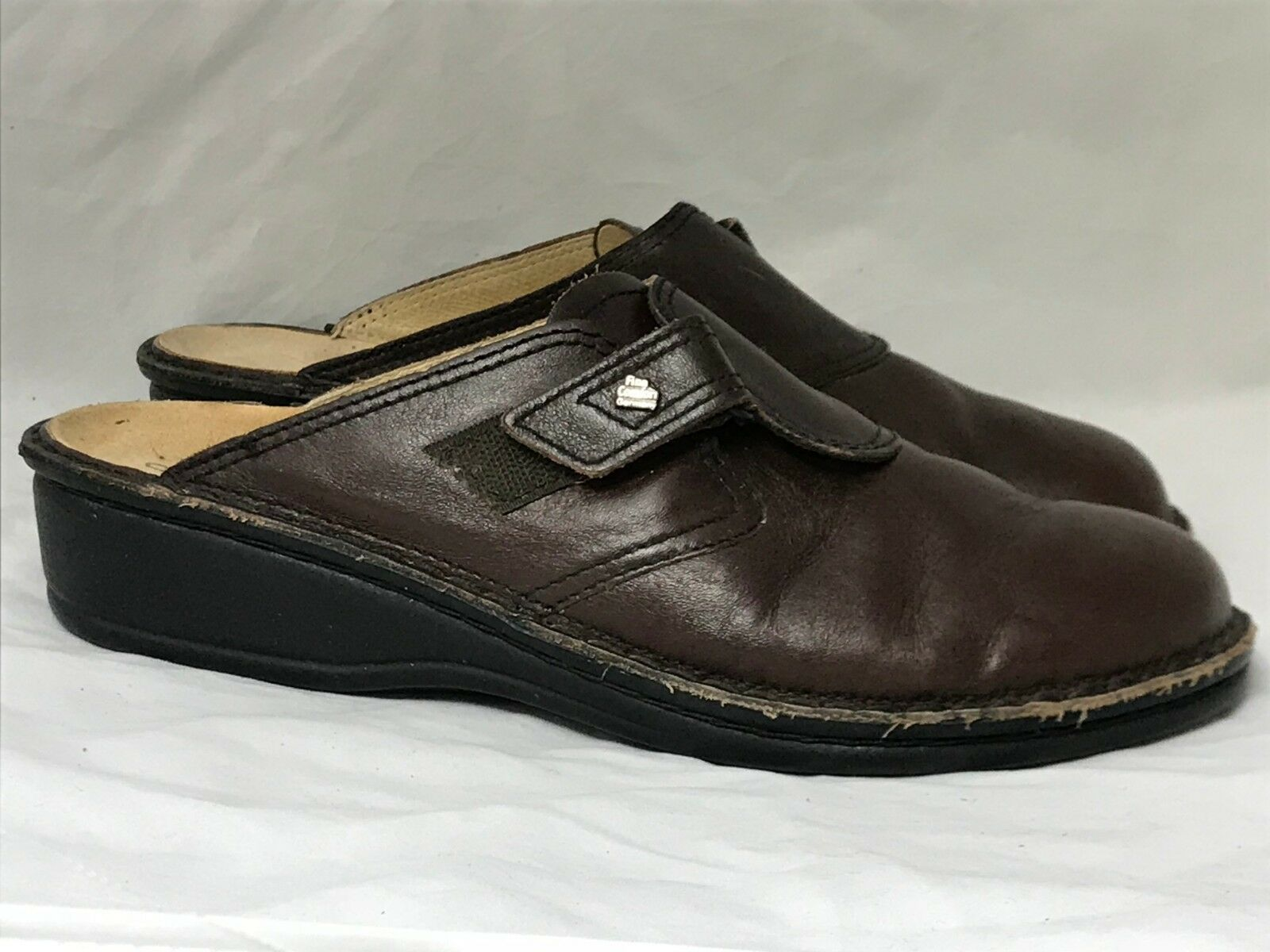 Finn Finn Finn Comfort Marrón Cuero Zapatos para mujer Talla 41 euros Slip On Hecho en Alemania  autentico en linea