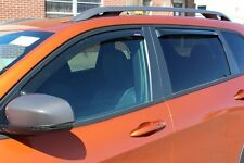 2014 - 2017 In-Channel Vent Visors Jeep Cherokee