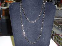 Park Lane Jewelry, verona Necklace, Hematite Garland Chain.