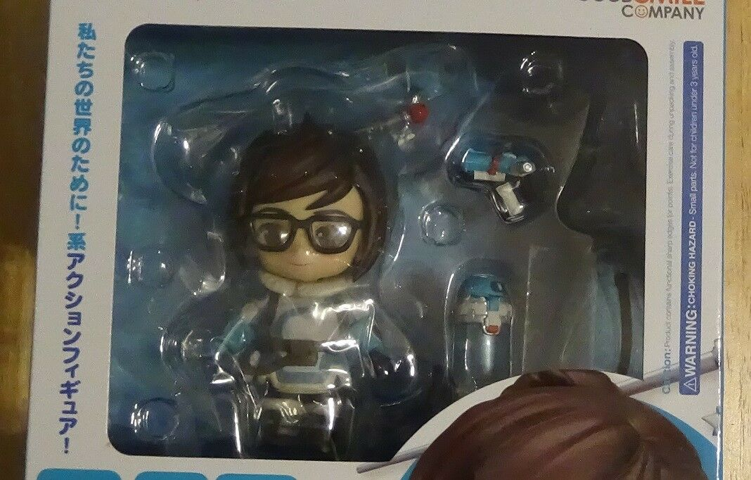 OVERWATCH GOOD SMILE MEI CLASSIC SKIN ACTION FIGURE FACTORY SEALED NIP