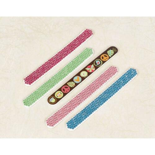 Hippie Chick Peace Owl Retro Kids Birthday Party Favor Gift Nail File 2 COLORS