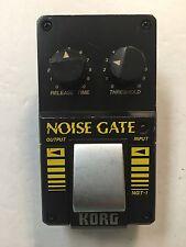 Korg NGT-1 Noise Gate Suppressor Rare Vintage Guitar Effect Pedal MIJ Japan