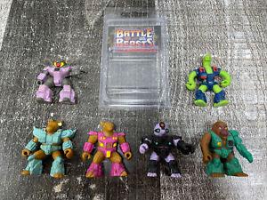 Battle-Beasts-Series-1-Figures-1987-Hasbro-Takara-Vintage-80-039-s-Lot-of-6