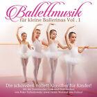 CD Musique de ballet Pour Petits Ballerines Volume 1 d'Artistes divers 2CDs