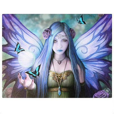 Fantasy Gothic Art Canvas Wall Plaque~Mystic Aura~by Anne Stokes~18~uk