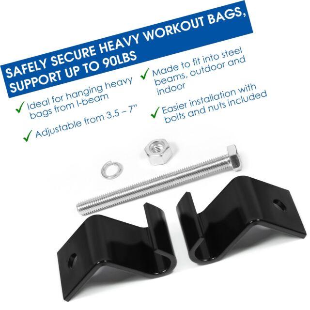 Yes4All Heavy Duty Steel Beam Bag Hanger ²avmhz for sale online