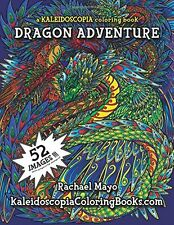 Coloring Books For Adult Dragon Art Design Patterns Painting Relaxing Stress Kid