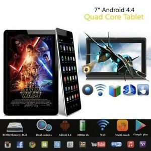 New-7Inch-Wifi-Tablet-Android-4-4-Quad-Core-8GB-Dual-Camera-Allwinner-A33-Tablet