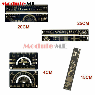 4//15//20//25cm PCB Ruler Reference Ruler PCB for Ardunio Electronic Engineers UK