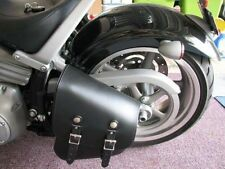 Motorcycle Leather Swing Arm Bag The Leatherworks 312XL Made In The USA