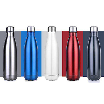 Vacuum Water Bottle Flask Thermos Stainless Steel Double Wall Vacuum Insulated