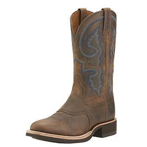 ariat s quantum crepe boots distressed brown 10015298