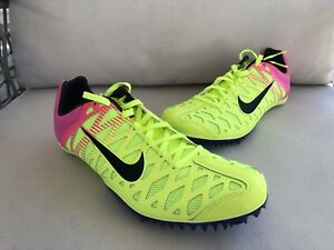 new styles d3887 56271 Image is loading Nike-Zoom-Maxcat-4-Track-Spikes-Volt-Rio-