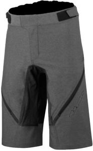 Grey Bright And Translucent In Appearance Activewear Bottoms Logical Alpinestars Bunny Hop Mens Cycling Shorts Clothing, Shoes & Accessories