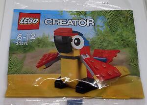 Lego-Creator-set-30472-Parrot-creature-Africa-loro-bolsa-polybag-nuevo