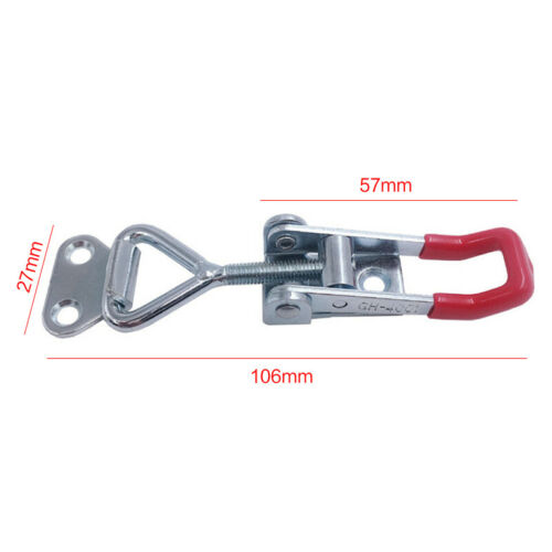 Quick Toggle Clamp Clip 100Kg 220Lbs Holding Stainless Steel Latch Hand Tool
