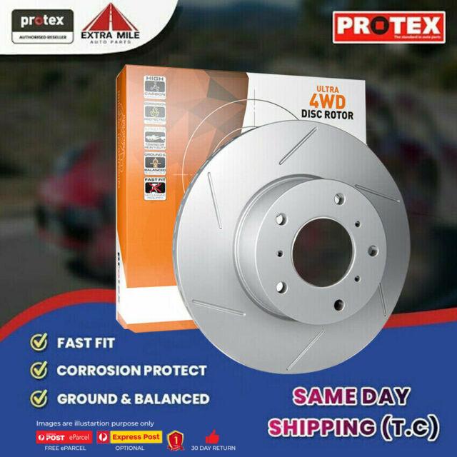 1x Protex Rear Ultra 4WD Rotor For MITSUBISHI Pajero NJ 3.5L 12/93 on FDR233HSL