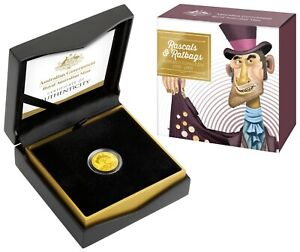 2018-Australia-Rascals-and-Ratbags-10-1-10th-oz-99-99-Gold-Proof-Coin-RAM