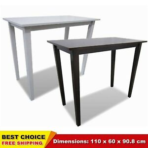 Details About Breakfast Bar Table Wooden Console Side Coffee Dining Room Tables Black White Uk