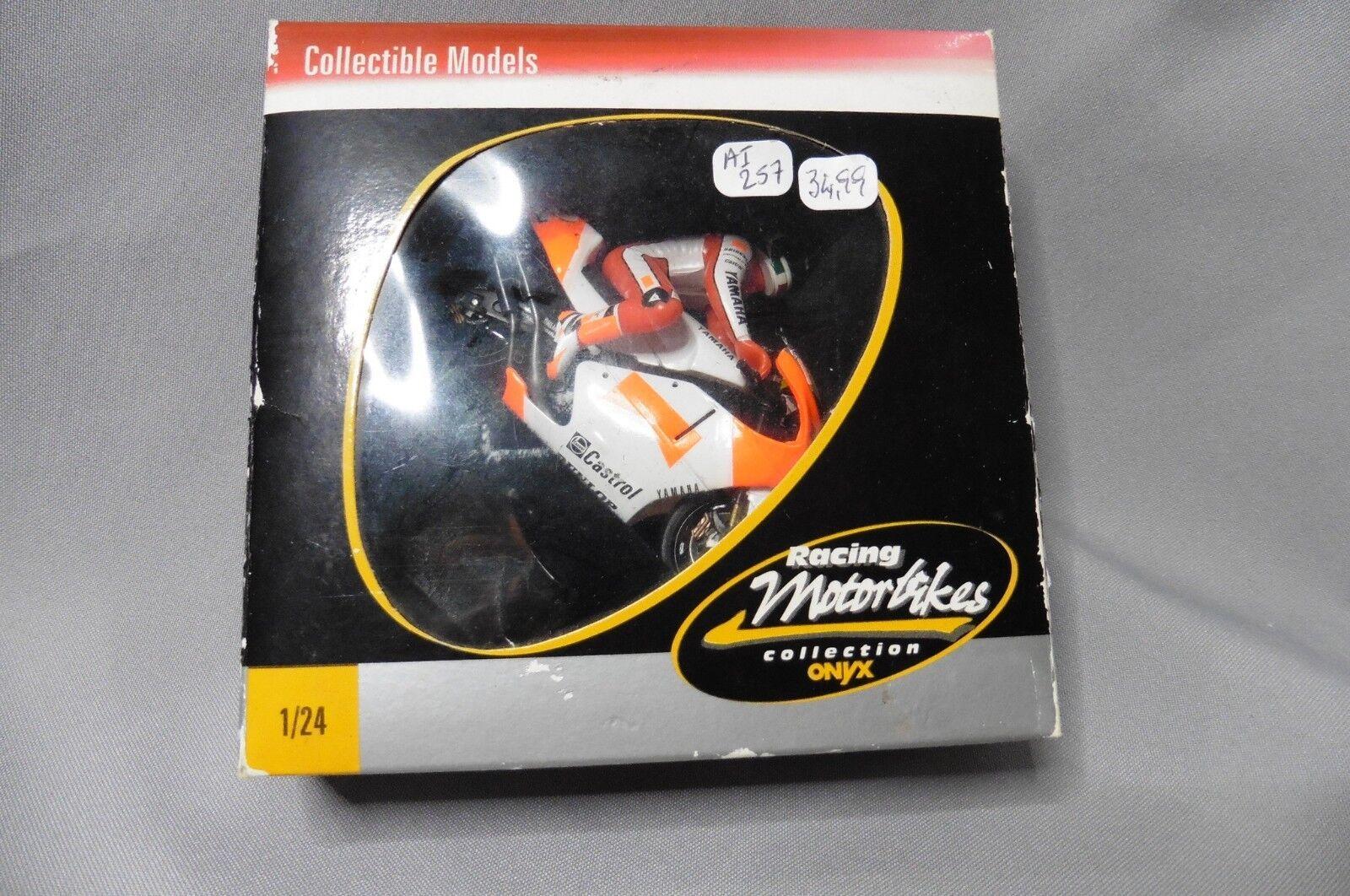 AI257 ONYX MOTOR BIKES YAMAHA YZR 500 TEAM ROBERTS LUCA CADALORA  2 M017 1 24