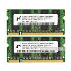 Micron 2X2GB PC2-5300 DDR2-667 667Mhz 200pin Laptop Sodimm Memory Ram Upgrade