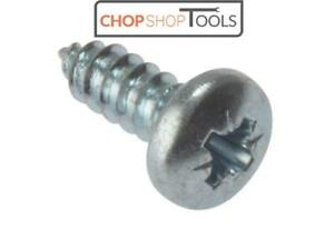 ForgeFix FORSTP11410Z Self-Tapping Screw Pozi Compatible Pan Head ZP 1.1/4in x 1