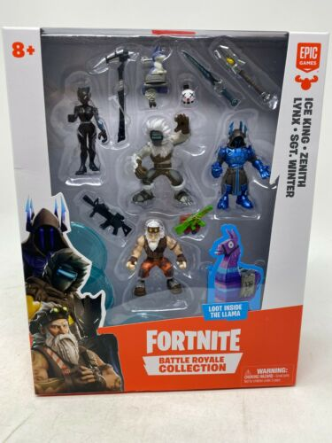 Zenith hiver figure pack Fortnite Battle Royale Lynx Collection: Ice King