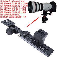 Support pour Canon EF 300mm 400mm f/2.8L IS II USM Trépied Anneau Bague Objectif