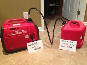 EXTENDED FUEL KIT for HONDA GENERATOR use your 5 G tank | eBay
