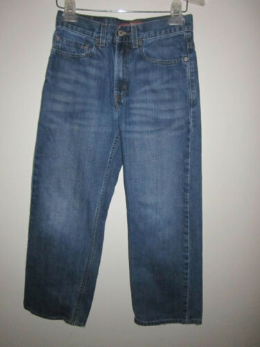 LEVI/'s blue jeans size 26 x 26.5 Loose Straight 569 red tab jeans 12 reg
