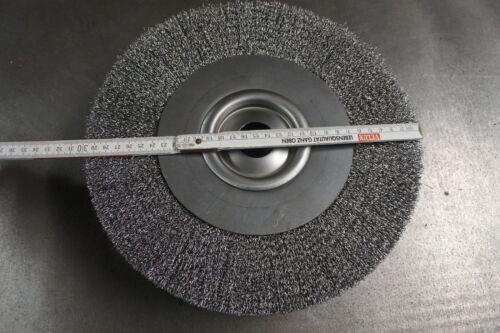 inkl 300 mm Stahldraht Rundbürste Drahtscheibe Entgratbürste Mwst