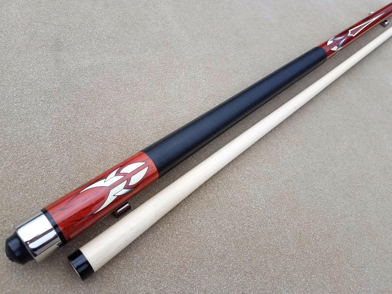 Nieuwe McDermott Star Series Pool Cue S55 Exotic Hout, Linen Wrap, 3 8x10 Pin Joint