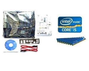 INTEL-i5-3450S-CPU-DH67BL-MICRO-ATX-MEDIA-MOTHERBOARD-16GB-MEMORY-RAM-COMBO-KIT