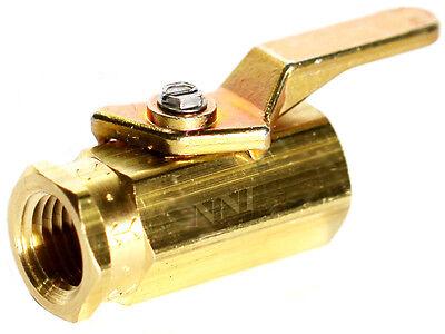 """1//2/"""" Brass Ball Valve NPT Female Threaded Full Port 300 WOG WATER,OIL,GAS,USA"""