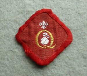 Vintage-Scouts-cloth-badge-Q-quality-not-sure-which-one