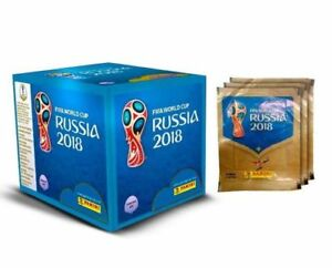 a543cd5d3 Panini RUSSIA FIFA World cup 2018 Sticker Album + 100 Packs BOX | eBay