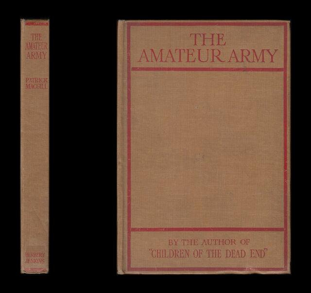1915 MacGill Amateure Armee Britische Expeditionskorps Force London irische Bataillon