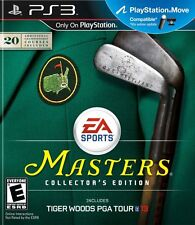 Tiger Woods PGA TOUR 13 MASTERS COLLECTORS EDITION PS3! MOVE COMPATIBLE! GOLF