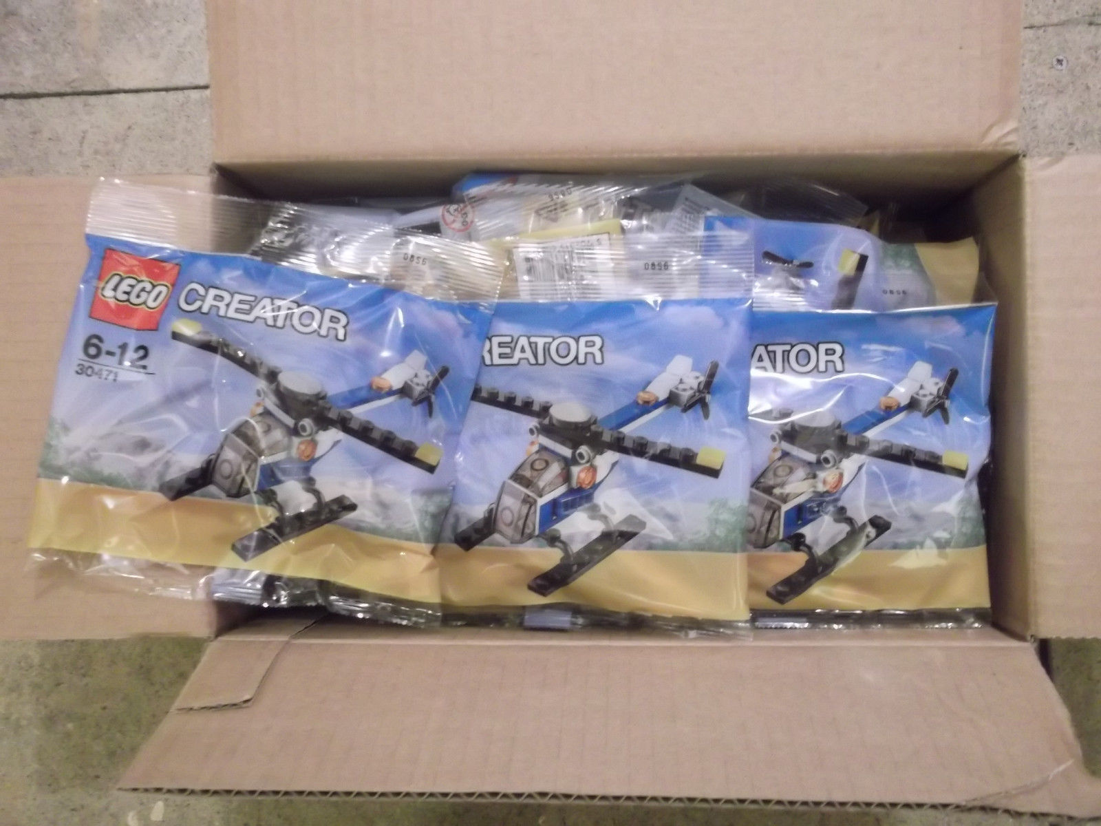 30X Lego Creator Helicopter 30471 EXCLUSIVE POLYBAG sealed.  LOT 2
