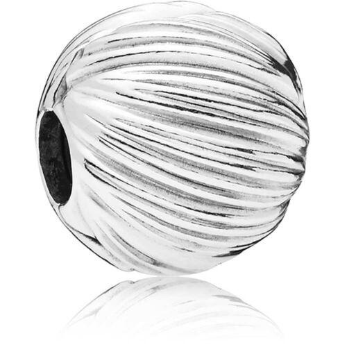 925 Sterling Silver Seeds of Elegance Clip  Stopper Charm Fits European bracelet