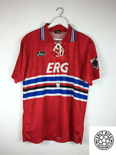 Retro Sampdoria 94/95 Tercera Camiseta de Fútbol (L) Fútbol Jersey Vintage Asics